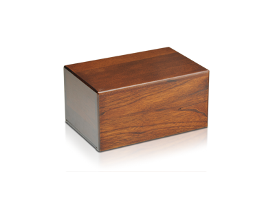 Complimentary Wood Urn