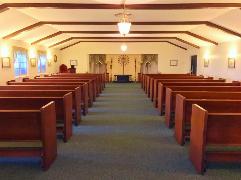 Chapel entry.