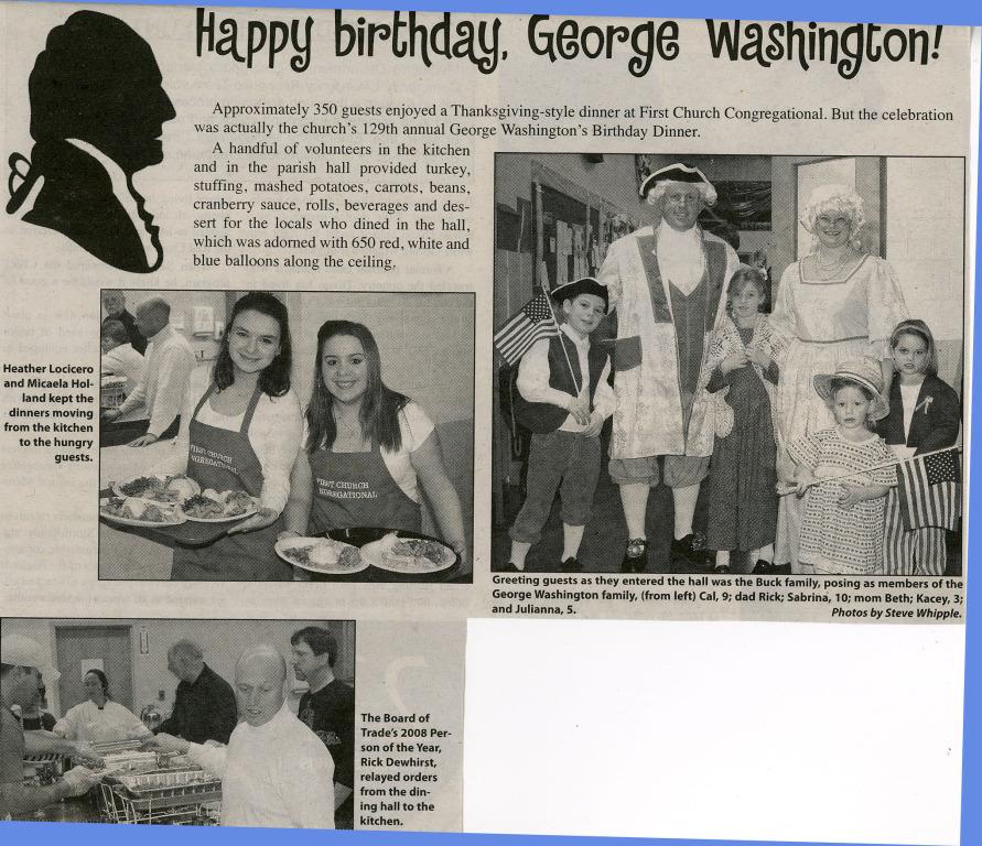 Happy Birthday, George Washington