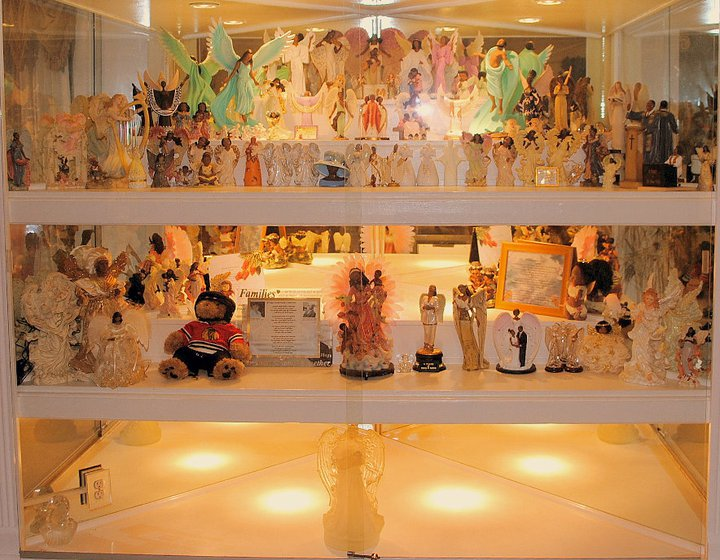 Angel Remembrance Cabinet