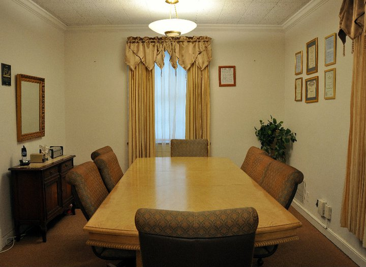 Arrangement Conference Room