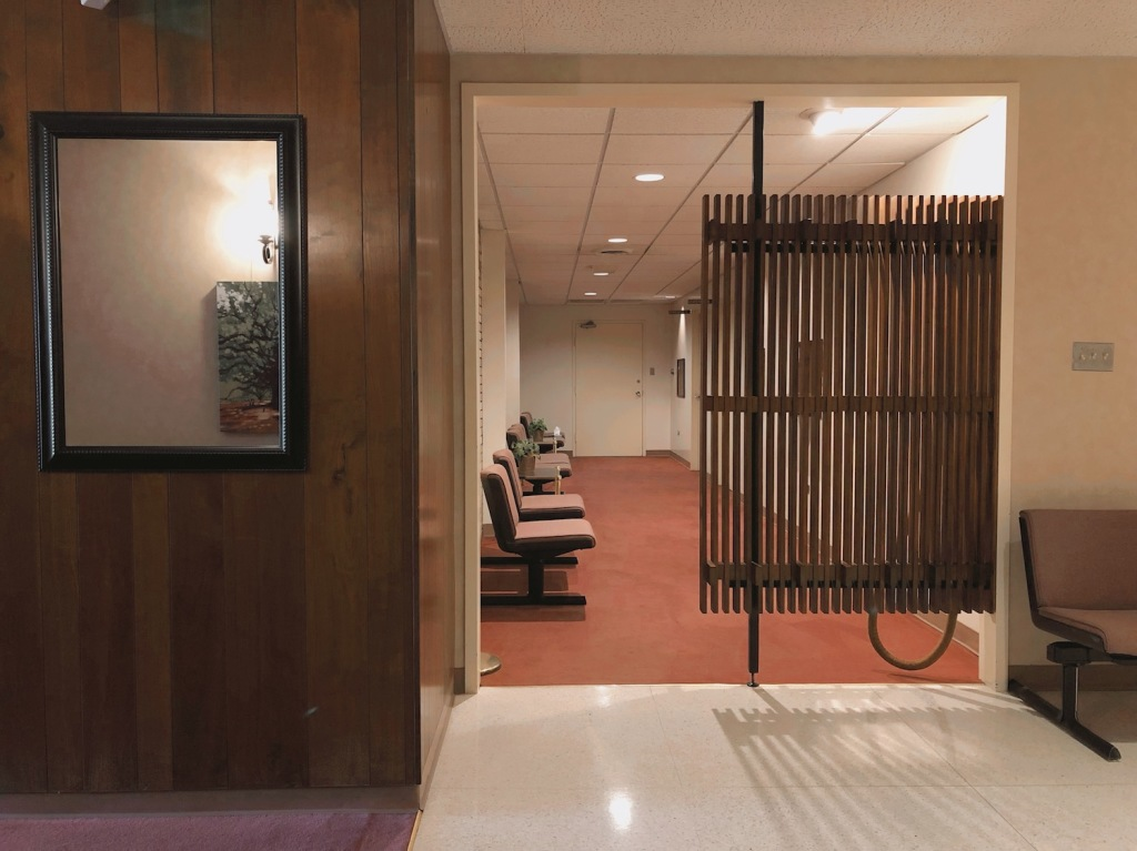 Stateroom Hallway at Darling-Mouser Funeral Home