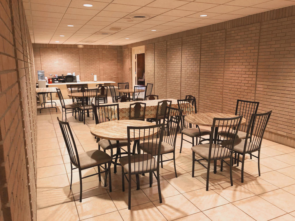 Reception Lounge at Darling-Mouser Funeral Home