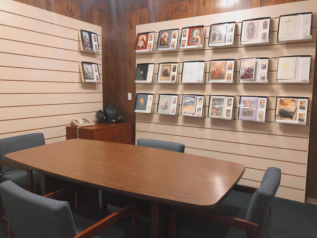 East Arrangement Office at Darling-Mouser Funeral Home