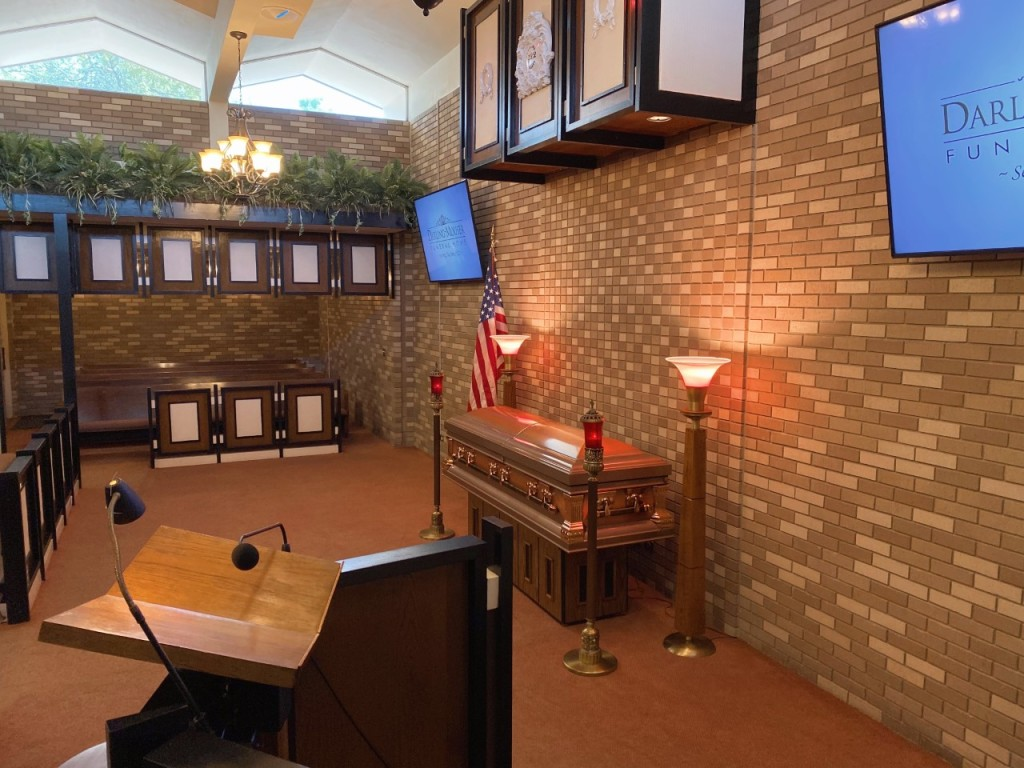 East Chapel at Darling-Mouser Funeral Home