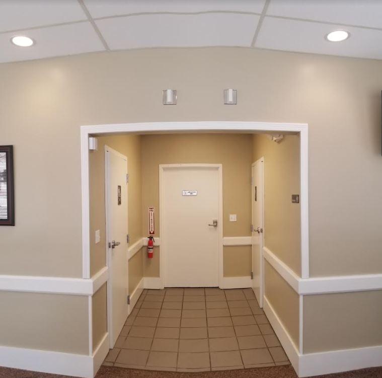 Two Handicap accessible  Restrooms