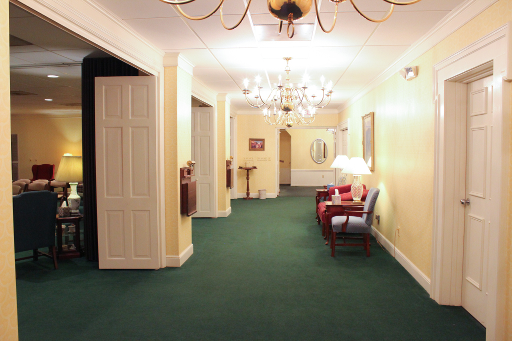 Corridor to Viewing Room