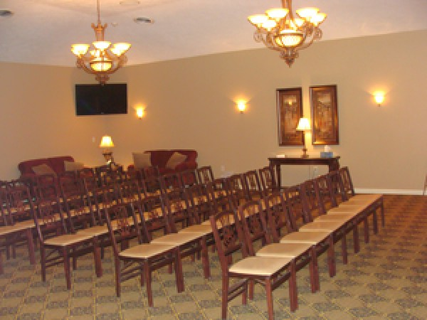 Large Room and Chapel