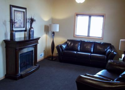Front Entryway and Sitting Area