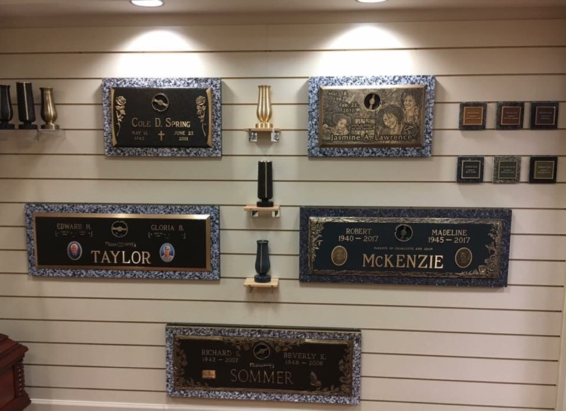 Bronze Marker Display