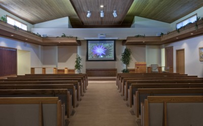 Our Chapel has standard seating for approximately 125 family members and friends. Additional seating can be arranged to accommodate a total of 300 individuals.