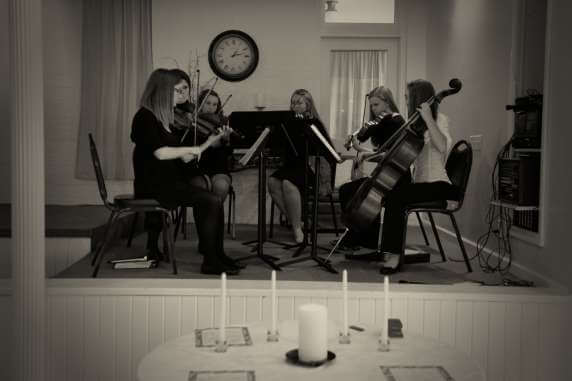 Music presented by the Chillicothe High School String Ensemble