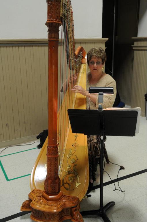 2017 Music- Harpist Bobbie Strobhar