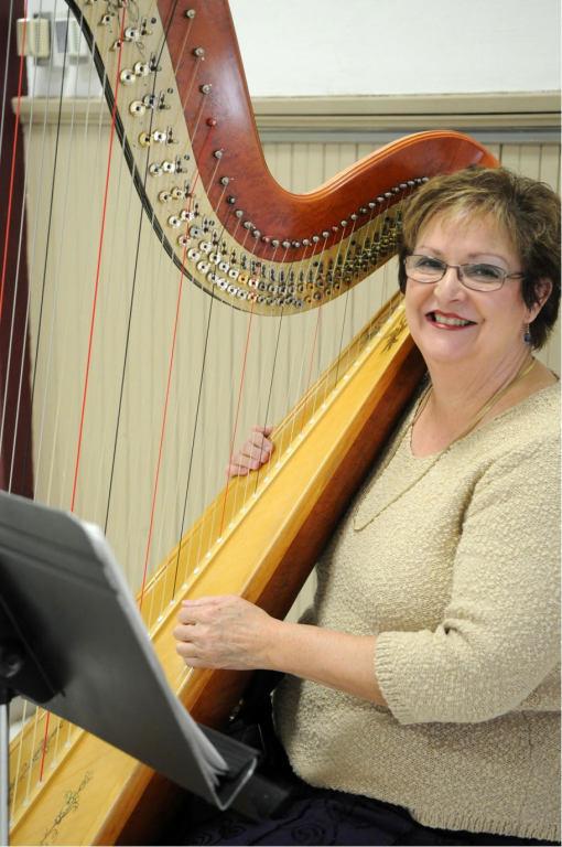 2018 Music- Harpist Bobbie Strobhar