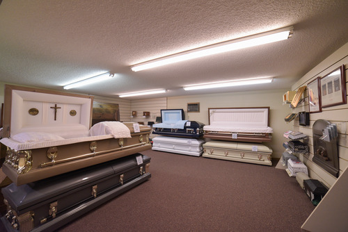 Casket and Keepsake Selection