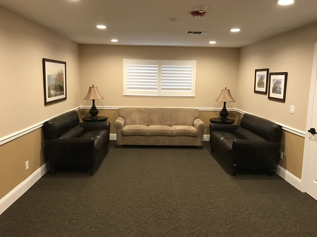 Private Family Viewing Room - El Dorado Funeral  Cremation Services