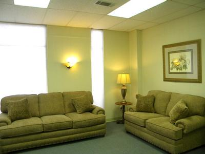 Magnolia Parlor - Our smallest parlor it can accommodate small to mid size visitations.