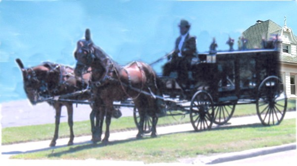 Horse Drawn Hearse available to serve you