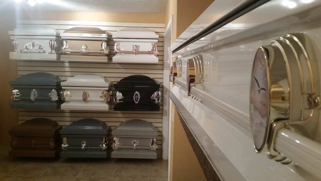 Casket Selection Area