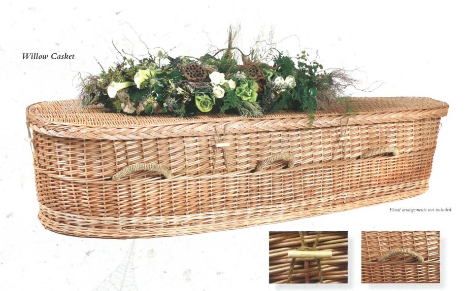 Willow Casket    Green Unit 1980.00