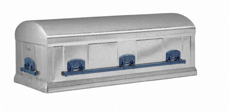 12 Gauge Silver Galvanized Steel