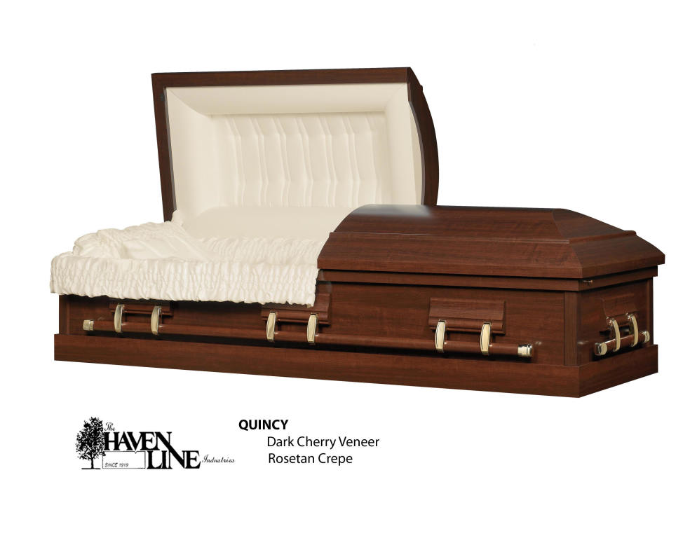 Quincy Dark Cherry Veneer