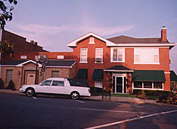 Our funeral home and chapel at 1117 Poplar Street.