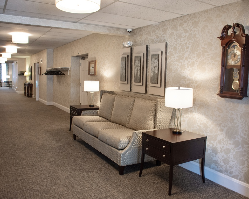 Hallway Reception Area