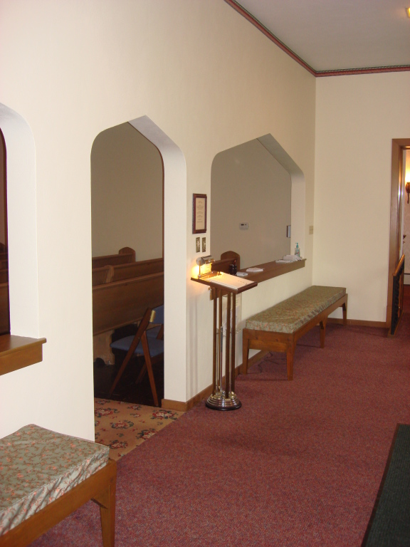 Chapel Entry and Registry