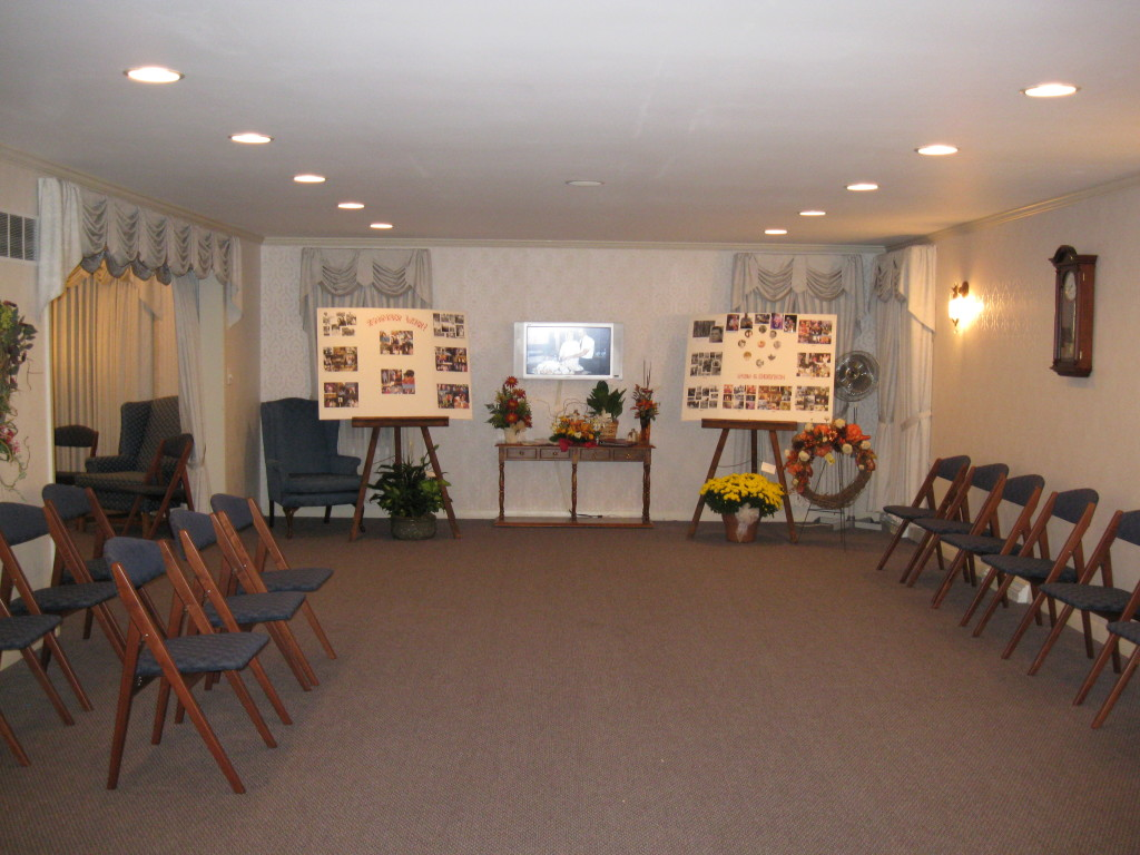 Chapel with Video Tribute