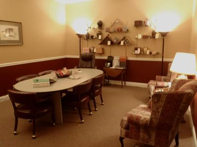 Our Arrangement Room for planning your memorial