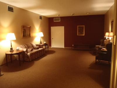 We have State Rooms for private visitations