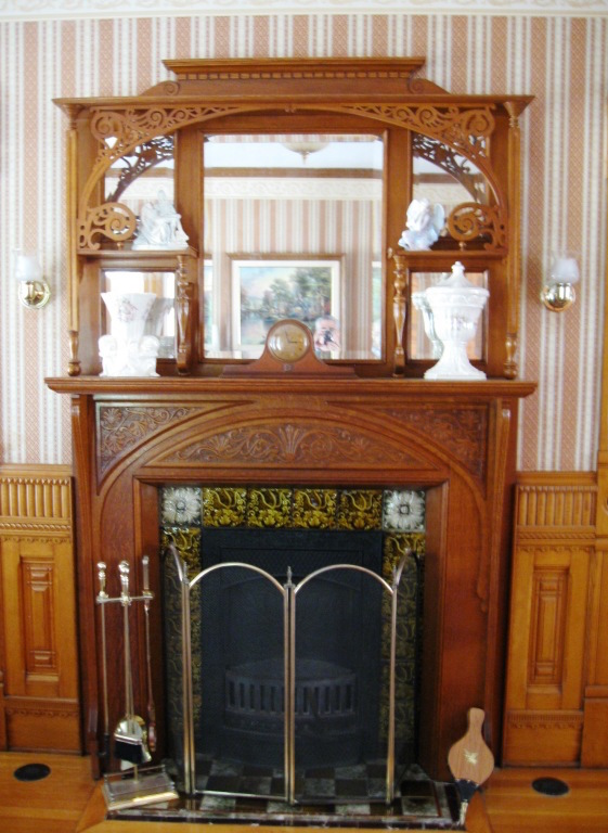 Our Fireplace at F.S. Roberts & Son Funeral Home