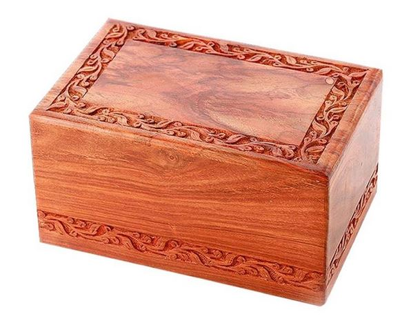 Hand Carved Rosewood $260.00