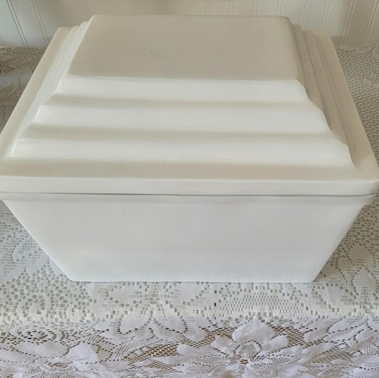 White Cast Iron Urn Vault (Single)  $250.00  #44021