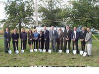 Ground Breaking - Gilbert-Fellers Funeral Home