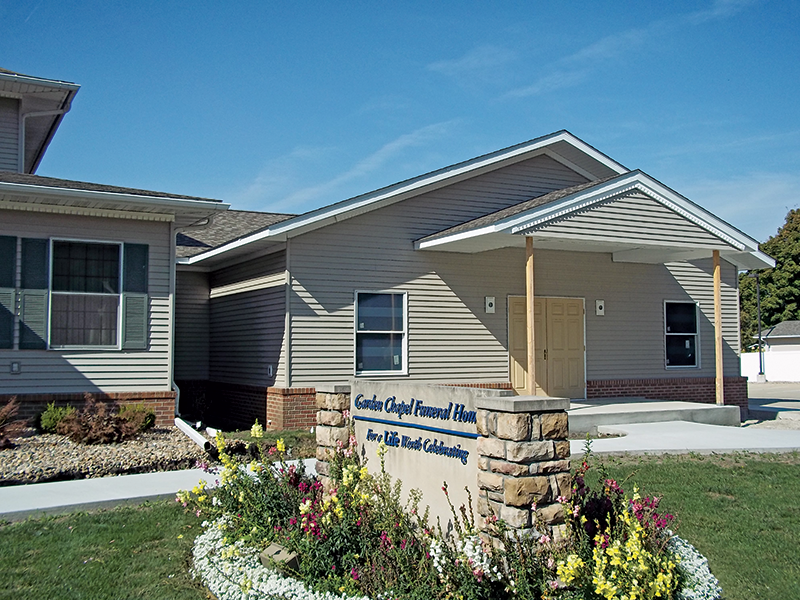 Garden Chapel Funeral Home Pella Ia Funeral Home And Cremation