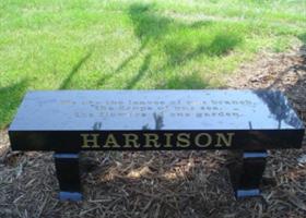 Three Piece Memorial Bench
