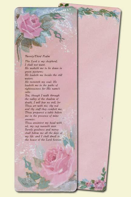 23rd Psalm (3x9)