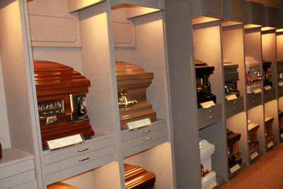 Large Casket Selection