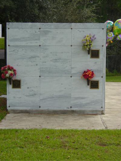 Columbarium Niches for Cremation Urns