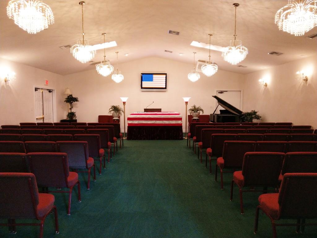 Chapel Veteran's Funeral