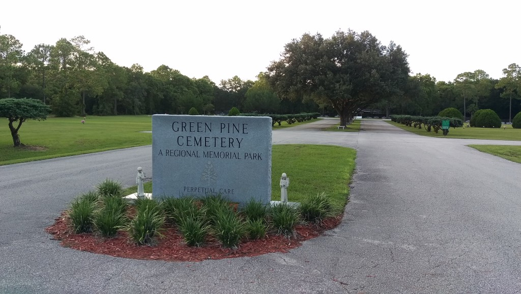 Cemetery Main Entrance