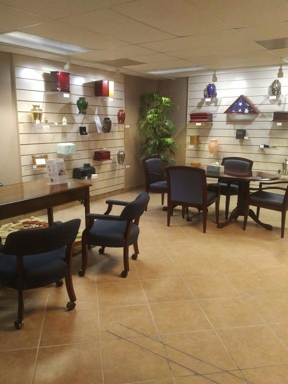 Cremation Arrangement and Selection Room