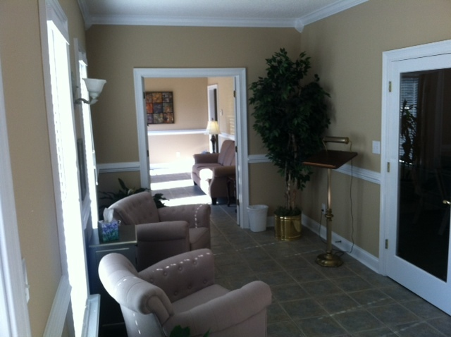 Our comfortable lobby is spacious enough to accommodate your guests for funeral or memorial services.