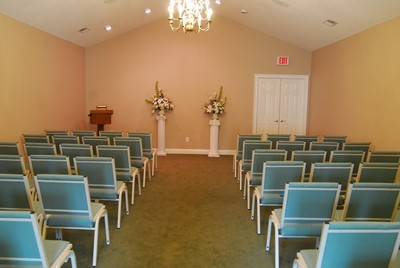 Our chapel is designed to be both intimate and accommodating so that each family feels comfortable as they pay tribute to their loved ones.