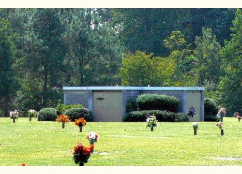 Peace Garden with Mausoleum