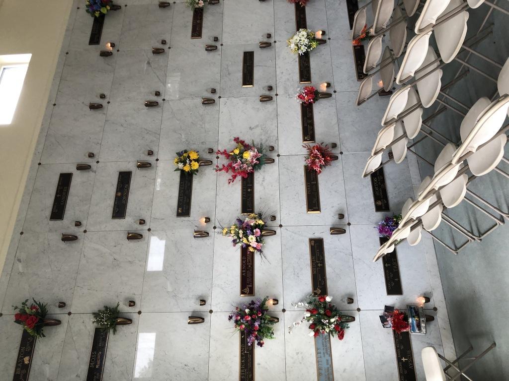Interior left of Chapel Mausoleum