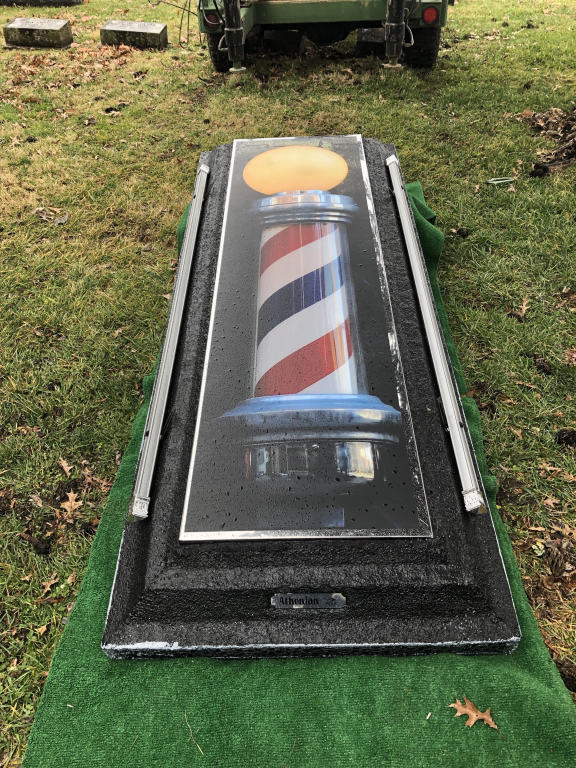 Barbers are important to all of us!  This is the way we honored a former barber.