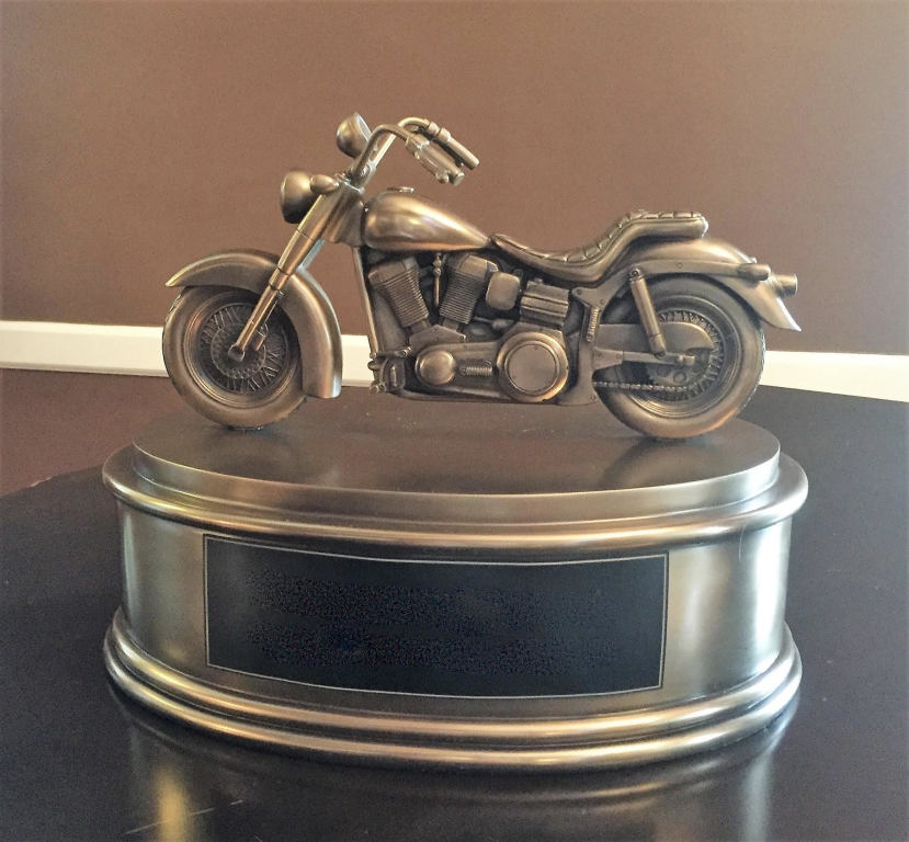 For the motorcycle enthusiast who prefers cremation